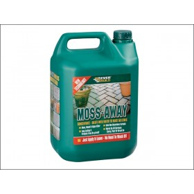 Everbuild Moss Away Mould and Algae Treatment Concentrate 5L