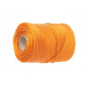 Faithfull 3100 Orange Polyethylene Brick Line 100m