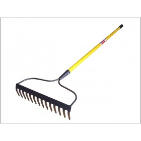 Faithfull Garden Rake - Fibreglass Shaft