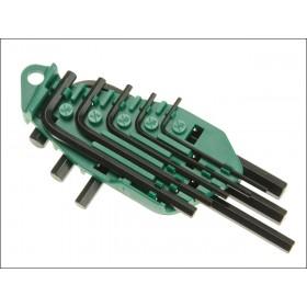 Faithfull Imperial 8 Piece Hexagon Key Set - Short Arm