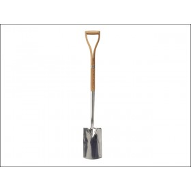 Faithfull Stainless Steel Border Spade - Ash Shaft YD
