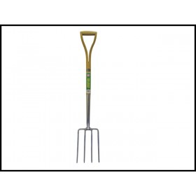Faithfull Stainless Steel Digging Fork - Ash Shaft YD
