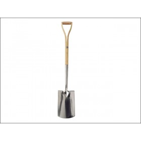 Faithfull Stainless Steel Digging Spade - Ash Shaft YD