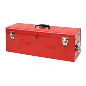 Faithfull Metal Heavy Duty Tool Box & Tote Tray 67cm