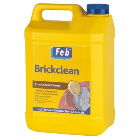Feb Brickclean External Acid Brick Cleaner - 5L