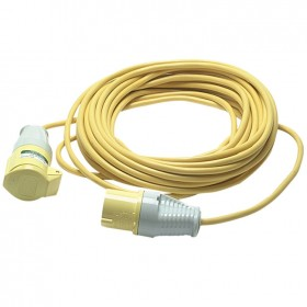 Faithfull Extension Lead 14m 16amp 1.5mm Cable 110v