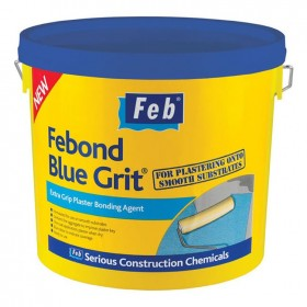 Feb Febond Blue Grit Extra Grip Plaster Bonding Agent 10L
