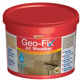 Geo-Fix Paving All Weather Jointing Compound Mortar Slate Grey - 14KG