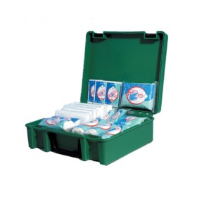 Wallace Cameron Green Box 10 Person First Aid Dispenser - 1001007