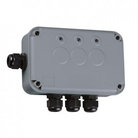 Knightsbridge IP66 3 Gang Remote Outdoor Switch Box