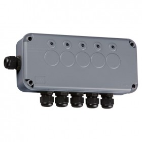 Knightsbridge IP66 5 Gang Remote Outdoor Switch Box