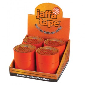 Everbuild Jaffa Industrial Cloth Duct Tape 50mm x 25m - Orange (Box of 12)