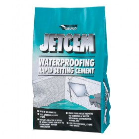 Everbuild Jetcem Waterproofing Rapid Set Cement 3kg