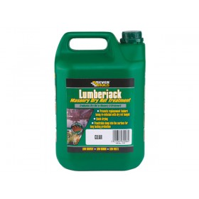 Everbuild Lumberjack Masonry Dry Rot Treatment - 5L
