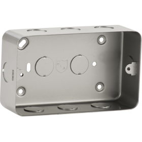 Knightsbridge M8900 Metalclad 2G Back Box