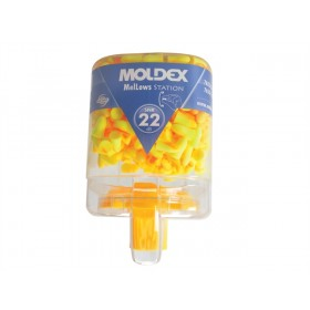 Moldex 7625 Disposable Foam Earplugs Mellows Station 250 Pairs SNR 22