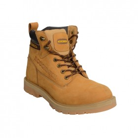 Roughneck Tornado Safety Boots Composite Midsole Wheat