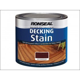 Ronseal Decking Stain Rich Mahogany 2.5L