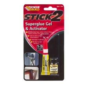 Stick 2 Superglue Gel & Activator 3gm & 3ml