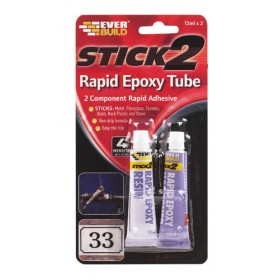 Stick 2 Rapid Epoxy Tube 12ml x 2