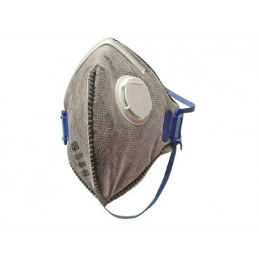 Scan Fold Flat Disposable Odour Mask Valved FFP2 Protection (3)