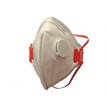 Scan Fold Flat Disposable Valved Disposable Mask FFP3 Protection(3)