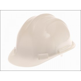 Scan Deluxe Safety Helmet White HP05