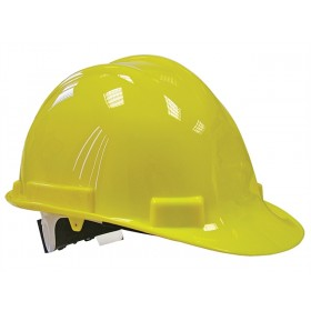 Scan Deluxe Safety Helmet Yellow