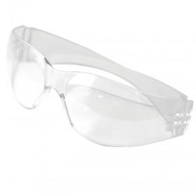 Silverline Wraparound Safety Glasses Clear - 140893