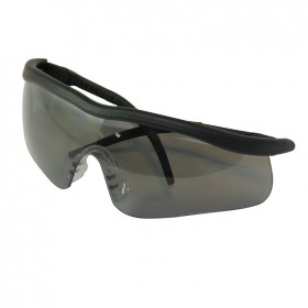Silverline Smoke Lens Safety Glasses Shadow - 140898