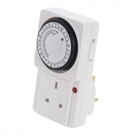 Silverline Plug-In Mechanical Timer 7 Day - 148232
