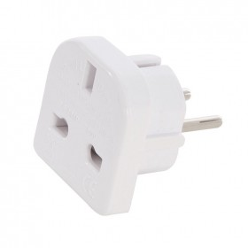 Silverline UK to EU Travel Adaptor 220 - 240V - 171631