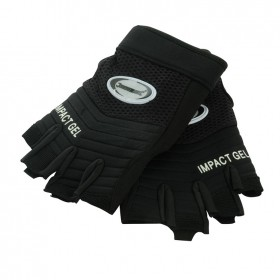 Silverline Fingerless Gel Comfort Gloves Large - 172572