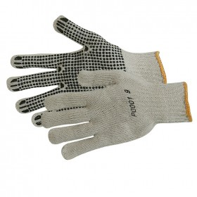 Silverline Single-Sided Dot Gloves Large - 196545