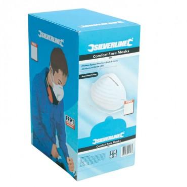 Silverline Comfort Dust Masks 50pk 50pk – 266831