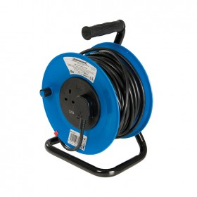 Silverline Cable Reel 240V 13A 25m 2 Socket - 303754