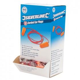 Silverline Corded Ear Plugs SNR 37dB 200pk - 427674