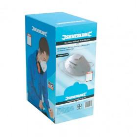 Silverline Moulded Valved Face Mask FFP3 NR Box 10pk - 427698
