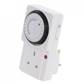 Silverline Plug-In Mechanical Timer 24 Hour - 438242