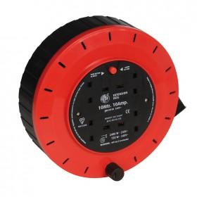 Silverline Cassette Cable Reel 240V 4 Socket - 619747