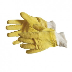 Silverline Fully Coated Latex Gloves One Size - 633543
