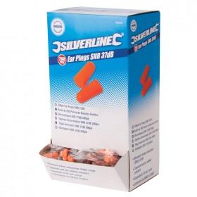 Silverline Ear Plugs SNR 37dB 5 Pairs - 675240