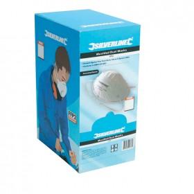 Silverline Moulded Face Mask FFP2 NR Display Box 20pk - 675282