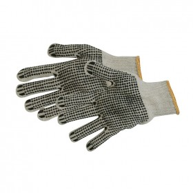 Silverline Double-Sided Dot Gloves Large - 783131