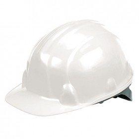 Silverline Safety Hard Hat White - 868532