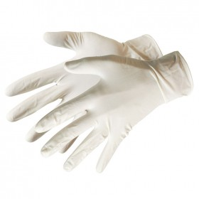 Silverline Disposable Latex Gloves 100pk Large - 980918