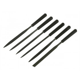 Stanley 6in needle file set 9pc