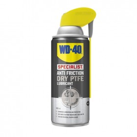 WD40 Specialist Anti Friction Dry PTFE Lubricant 400ml