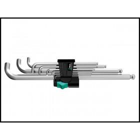 Wera Hex Plus Key Set Ballpoint mm Stainless Steel 9 Piece