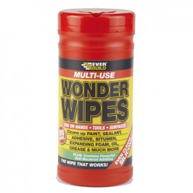 Everbuild Multi Purpose Wonder Wipes - 100 Wipes